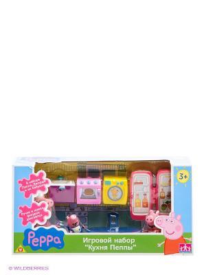 Игровой набор Кухня Пеппы, Свинка Пеппа Peppa Pig. Цвет: синий, фиолетовый, розовый, желтый
