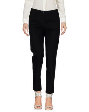 Повседневные брюки LUISA CERANO. Цвет: черный