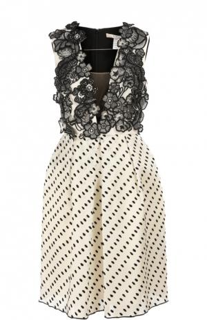 Платье Erdem. Цвет: черно-белый