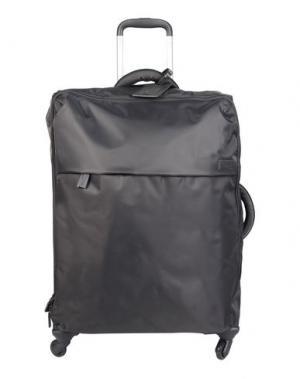 Чемодан/сумка на колесиках LIPAULT. Цвет: серый
