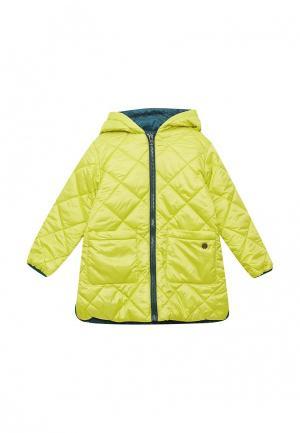 Куртка утепленная Button Blue. Цвет: зеленый