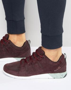 Boxfresh Замшевые кроссовки Clifden. Цвет: красный