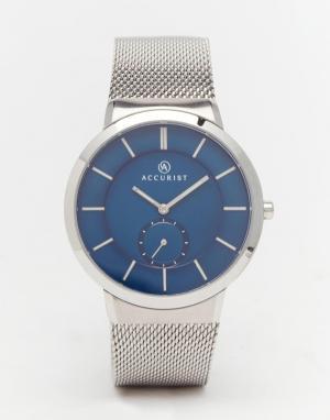 Accurist Классические часы из нержавеющей стали. Цвет: серебряный