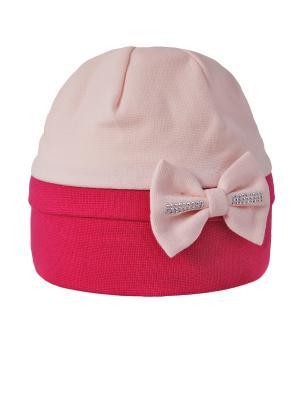 Шапка Elo-Melo. Цвет: бледно-розовый, фуксия