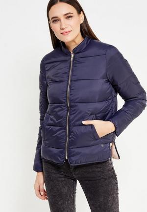 Куртка утепленная Numph. Цвет: синий