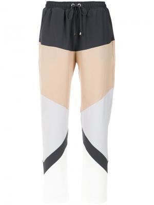 Panelled trousers Olympiah. Цвет: многоцветный