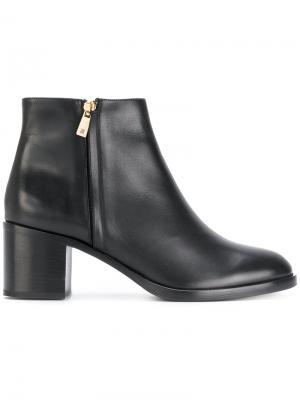 Ботинки на молнии Fratelli Rossetti. Цвет: чёрный