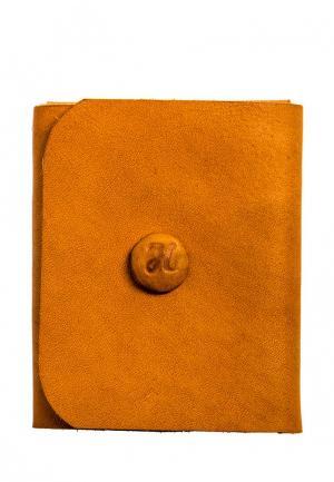 Кошелек Handsel. Цвет: оранжевый