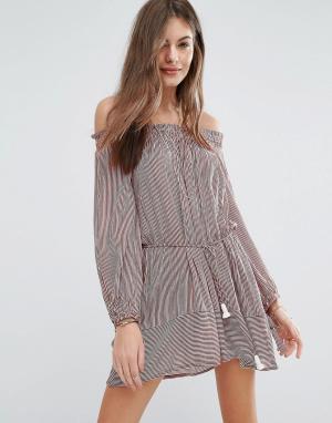 Faithful the Brand Платье Faithfull Mali. Цвет: розовый