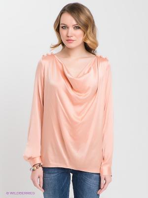 Блузка Nolita. Цвет: персиковый