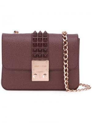 Сумка на плечо Amalfi Designinverso. Цвет: розовый и фиолетовый