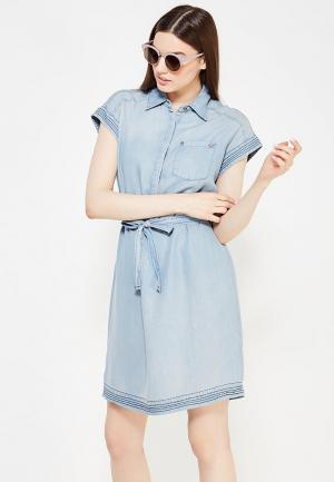 Платье Mustang. Цвет: синий