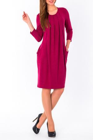 Платье S&A style. Цвет: бордо