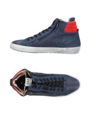 Высокие кеды и кроссовки QUATTROBARRADODICI. Цвет: грифельно-синий
