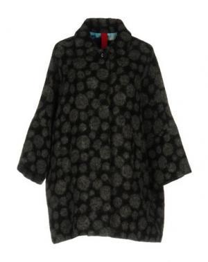 Пальто FEMME by MICHELE ROSSI. Цвет: серый