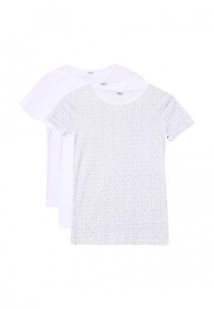 Комплект футболок 3 шт. Blukids. Цвет: белый
