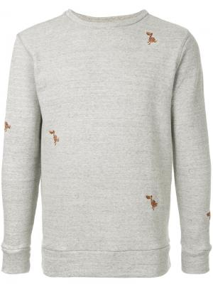 Round neck sweatshirt Jupe By Jackie. Цвет: серый