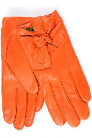 Перчатки Dali Exclusive. Цвет: оранжевый
