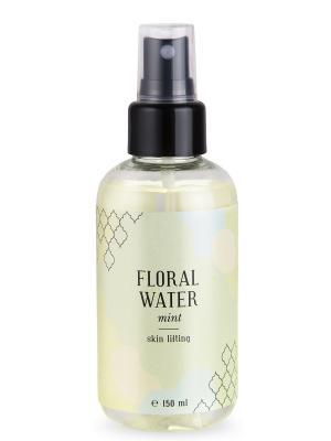 Флоральная вода мята лифтинг кожи 150 мл Huilargan. Цвет: желтый