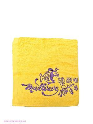 Полотенце Mad Wave. Цвет: желтый