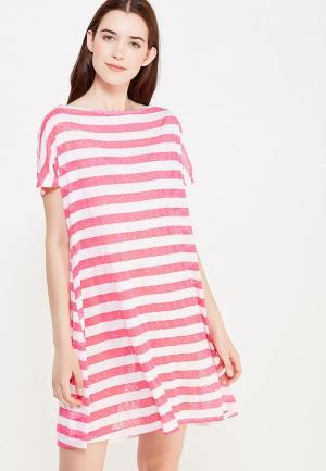 Платье домашнее Дефиле. Цвет: розовый