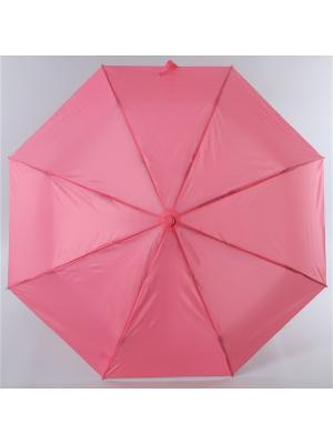 Зонт Torm, Женский, 3 сложения, Автомат,  Полиэстер Torm. Цвет: розовый