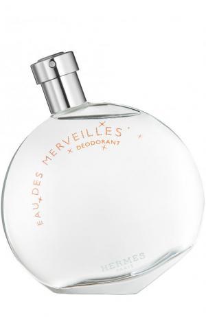 Дезодорант Eau des Merveilles Hermès. Цвет: бесцветный