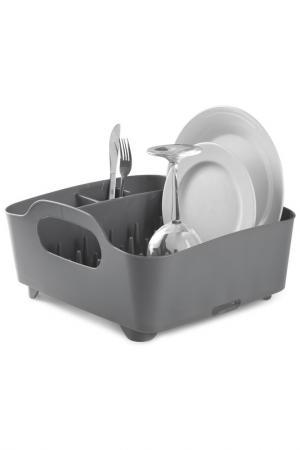 Сушилка для посуды UMBRA. Цвет: графитовый