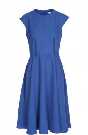 Платье Carven. Цвет: лиловый