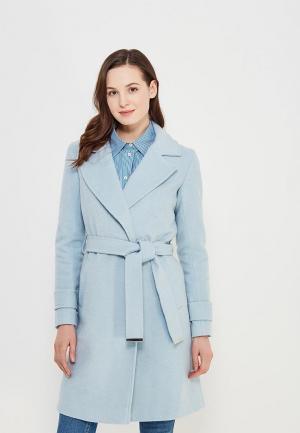 Пальто Dorothy Perkins. Цвет: голубой