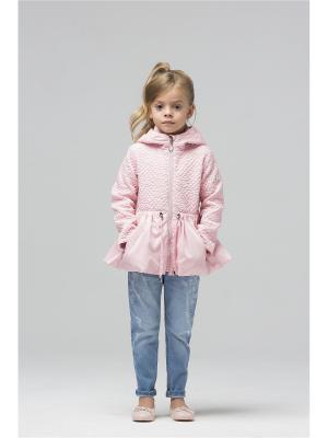 Куртка Pulka. Цвет: розовый