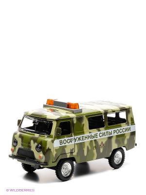 Машина УАЗ 452 Вооруженные силы России Технопарк. Цвет: хаки