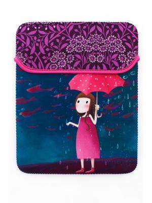 Чехол для планшета Sheldi. Цвет: синий, розовый, фиолетовый