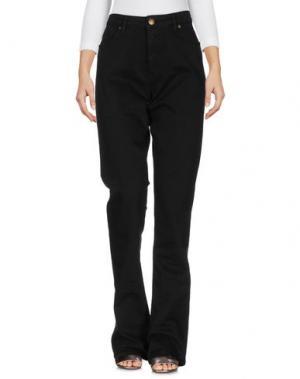 Джинсовые брюки 2W2M. Цвет: черный