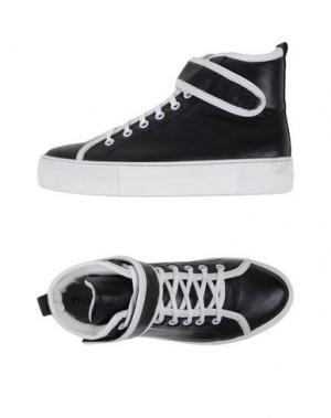 Высокие кеды и кроссовки PROJECT ONE. Цвет: черный