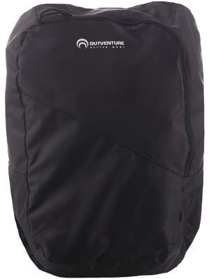 Рюкзак OUTVENTURE. Цвет: черный