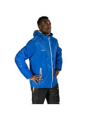 Куртка утепленная Futuro 2K. Цвет: синий, серебристый
