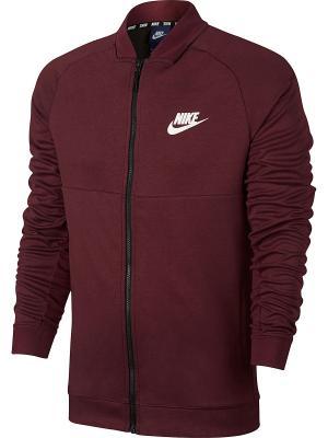 Бомбер M NSW AV15 JKT FLC Nike. Цвет: красный