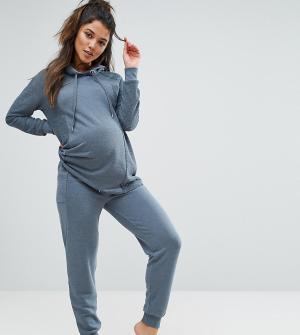 ASOS Maternity Джоггеры LOUNGE. Цвет: серый