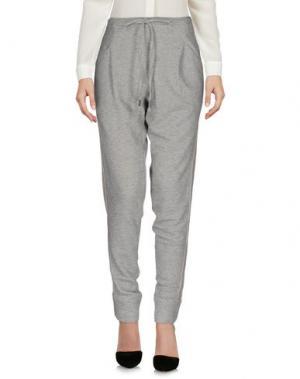 Повседневные брюки HOLY GHOST. Цвет: серый