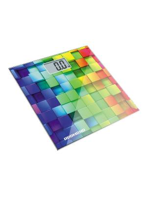 Весы напольные REDMOND RS-708 (Кубики). Цвет: белый