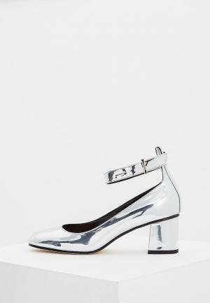 Туфли Max&Co. Цвет: серебряный