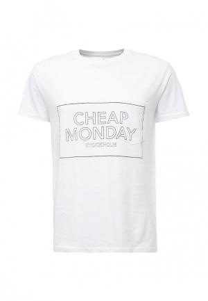 Футболка Cheap Monday. Цвет: белый