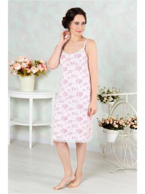 Ночная сорочка Mia Cara. Цвет: розовый