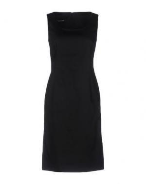 Платье до колена EMISPHERE. Цвет: черный