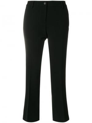 Расклешенные приталенные брюки Alberto Biani. Цвет: чёрный