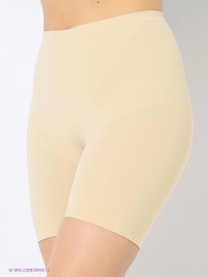 Трусы-шорты с моделирующим эффектом Intimidea. Цвет: бежевый