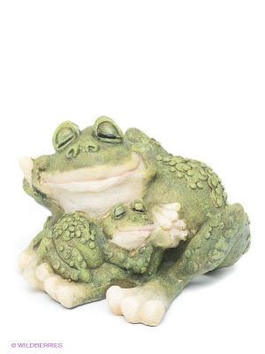 Фигурка Лягушки Sealmark. Цвет: зеленый, молочный