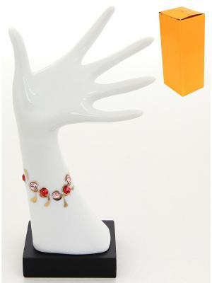 Подставка для колец Рука с браслетом Elan Gallery. Цвет: белый