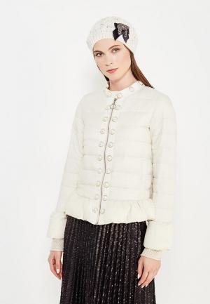 Куртка утепленная Twin-Set Simona Barbieri. Цвет: белый